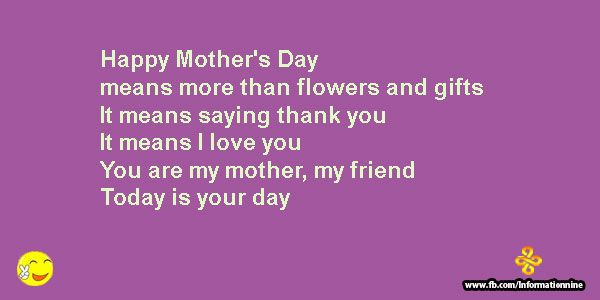 Short Mothers Day Quotes: Hi are you searching for some of the most stunningShort Mothers Day Quotes for your mom at that mother's day 2016 event? So Right now you are on ideal place. We Inspirational Love Quotes have write a best and most sweet short mothers day quotes for you at happy mother's day 2016. Top… Read More »