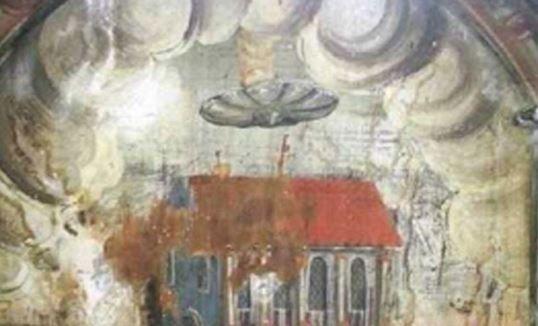 Δέκα αρχαίες εικόνες που πιθανώς να απεικονίζουν UFO και «αρχαίους αστροναύτες»