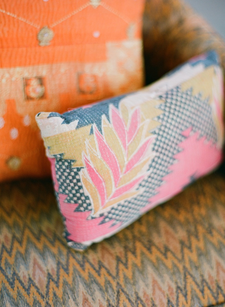 Rue Magazine (June 2012 Issue).  Photography By Jose Villa.: Prints Patterns, Pillow Patterns, Pillows Patterns, Rue Magazines, Throw Pillows, Colors Pillows, Gorgeous Pillows, Cushions Fabrics, Pretty Cushions