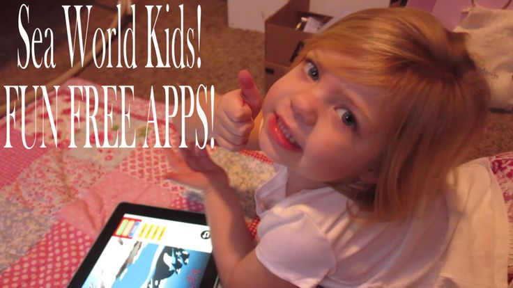 Watch this super-cute video review from Heather Cox of the new SeaWorld Kids apps!