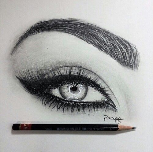 I love eye drawings!