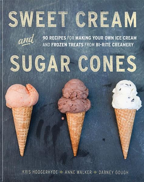 Inspired by - Design. Sweet Cream And Sugar Cones From Bi-Rite Creamer. #Design #Type #IceCreamCones