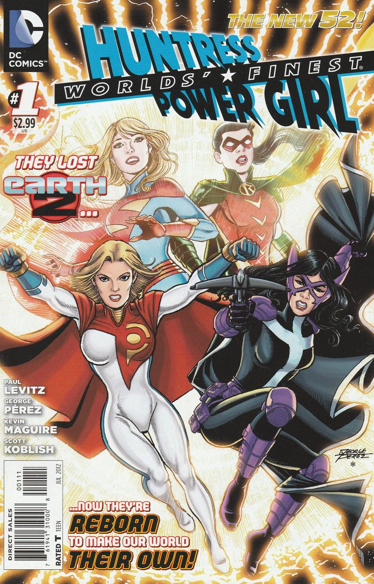 Worlds' Finest # 1 DC Comics The New 52! Vol 3
