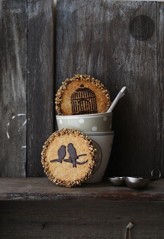 Galletas de mantequilla de cacahuete y chocolate