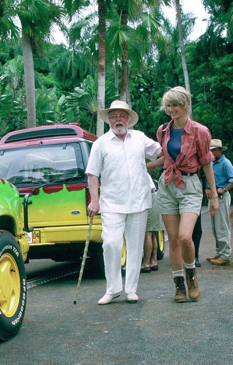 Richard Attenborough and Laura Dern in Jurassic Park