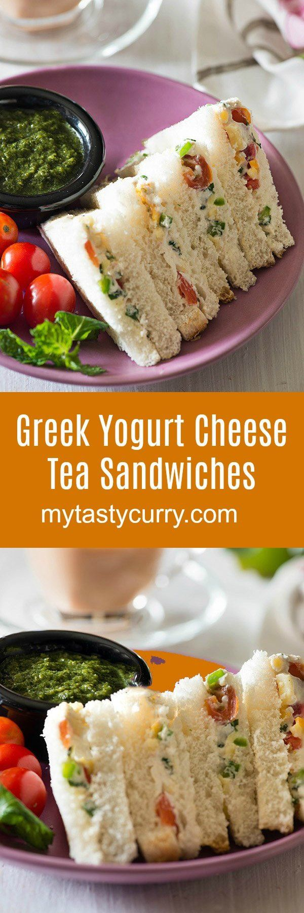 Delicious and easy Curd Sandwich recipe, with cheese and veggies in a flavorful seasoning. Curd Cheese and Veggie sandwichis aPerfect and easy sandwich for breakfast, high tea or to pack in a lunchbox.