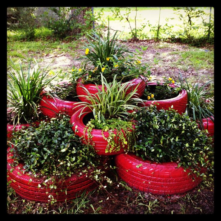 Fun Flower Garden : Best images about old tires fun for kids on pinterest