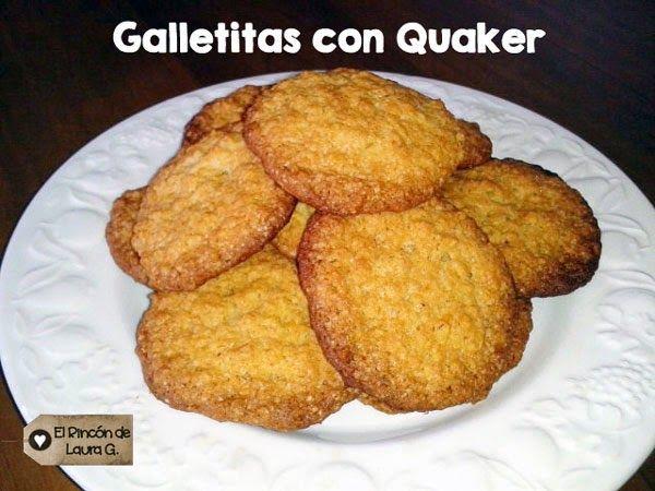Cómo hacer Galletas con Avena o Cómo hacer Galletitas de Quaker, la receta con fotos paso a paso: Estas son unas Galletitas de Quaker o Galletas de Avena crocantes y sabrosas con un toque especiado...
