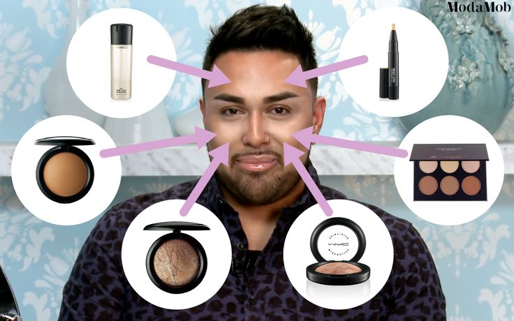 How to Highlight and Contour (Tutorial with MAC_Daddyy) #Bronzer #Contour