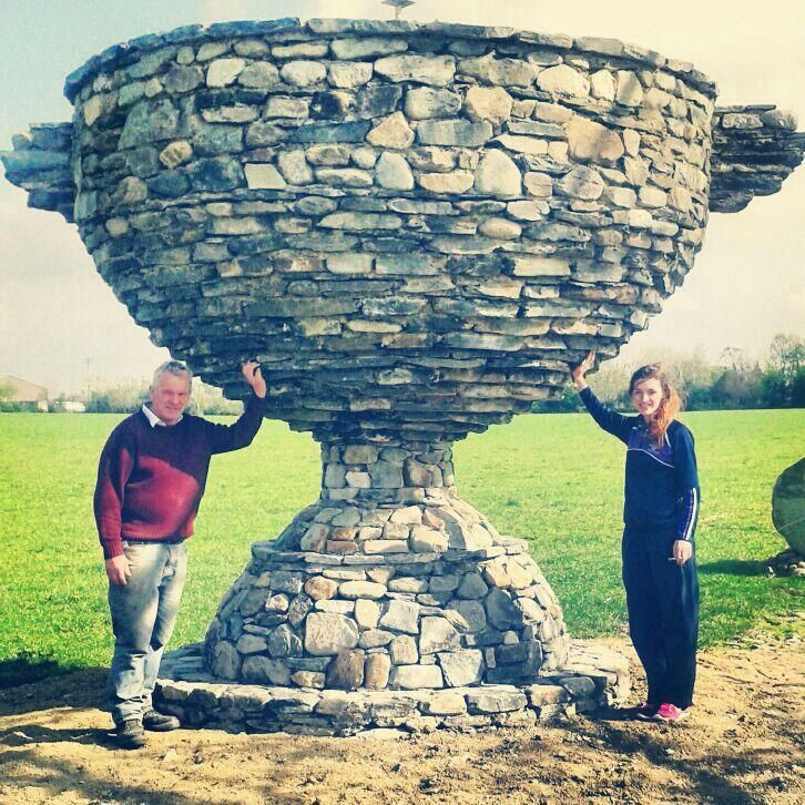 Amazing :: Bet your dad didn't build you a giant stone Sam Maguire