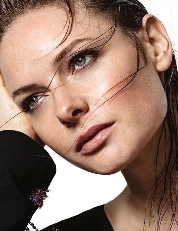 Rebecca Ferguson — Rebecca Ferguson photographed by Hew Hood wearing...