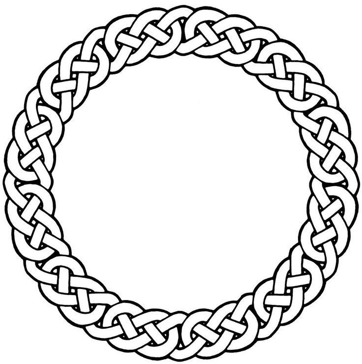 celtic knot designs | Tat Tattoo Desi… Celtic Circle T… celtic-circle-3 1019.1024