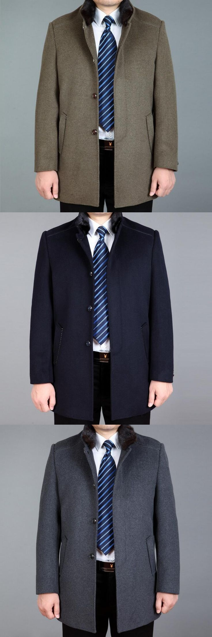Mens Cashmere Long Coat Stylish And High-grade To Warm Up Formal Winter Jacket Men Leisure Size Cashmere Blazers