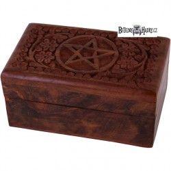 Šperkovnice s pentagramem