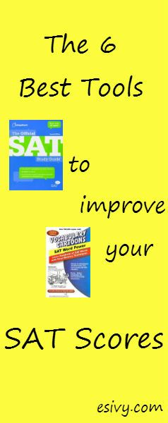 The 6 best SAT prep tools to improve your SAT score. Resources for tips and tricks and just plain good advice on where to find the best study guides and explanations of SAT questions.