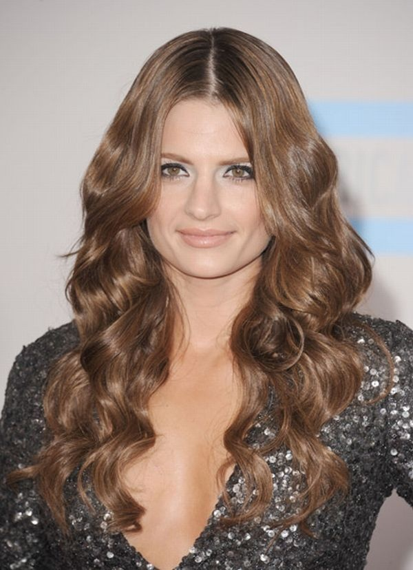 Stana Katic With Bangs Photos Best Hairstyles Ideas