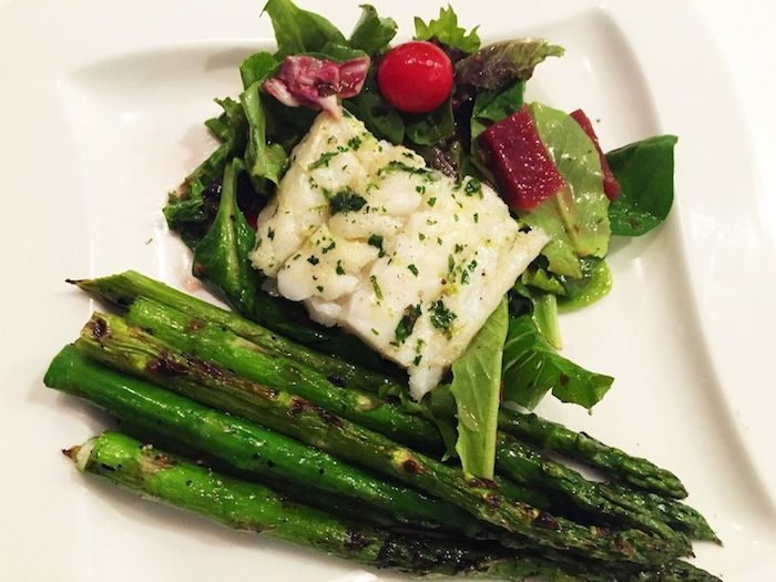 Grilled Ling Cod with Veggies Recipe