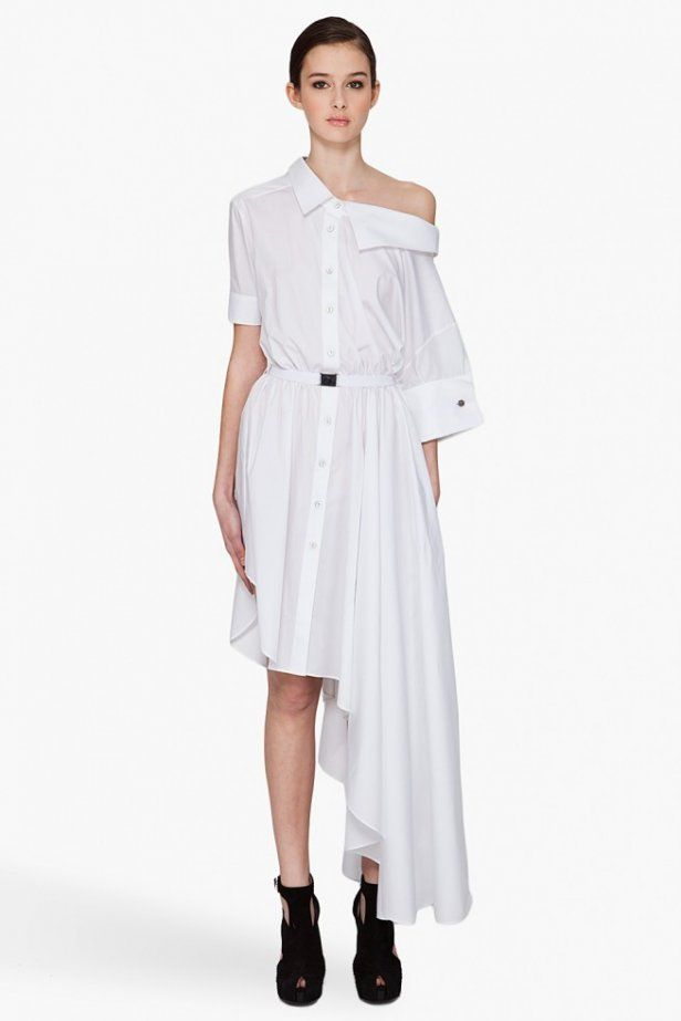 Viktor & Rolf - Asymmetrical Dress