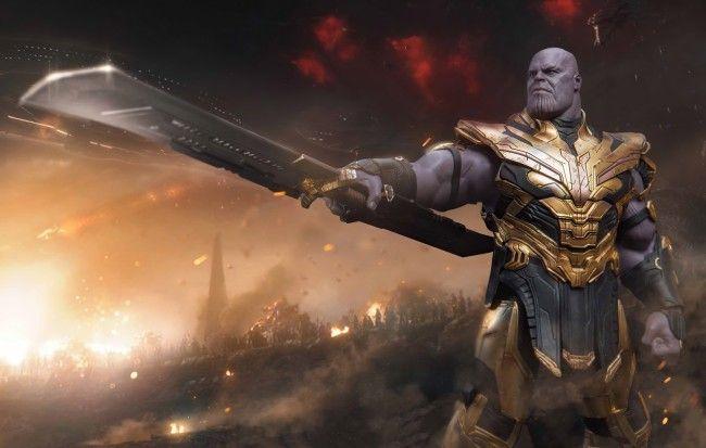 Wallpaper Thanos Villain Avengers Endgame Armor Battle Marvel Universe Wallpapermaiden Marvel Wallpaper Marvel Comics Art Marvel Thanos wallpaper 4k for laptop