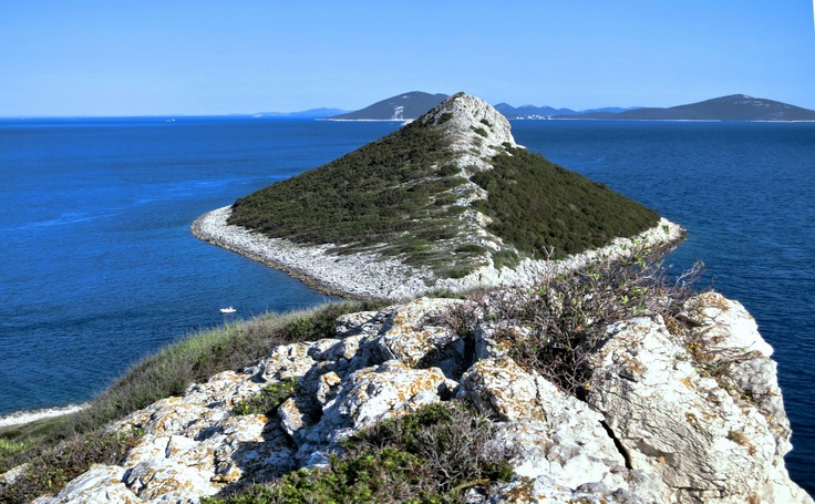 A little island, near Silba | view from the top