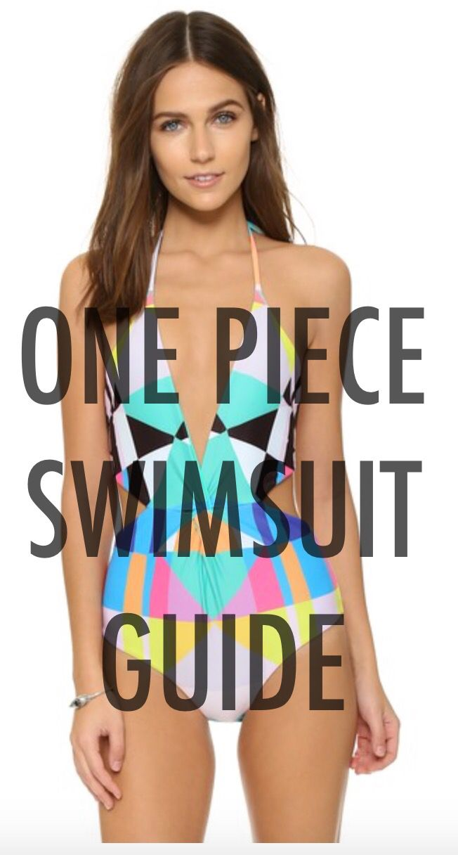 Click through for all the details! One Piece Swimsuit Guide | C. Style Blog