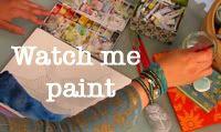 Watercolour painting tutorial by Geninne