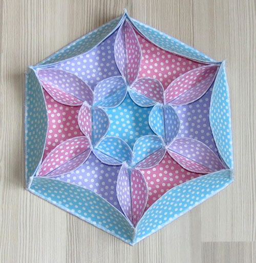 Boxes with Love- fabric box patterns