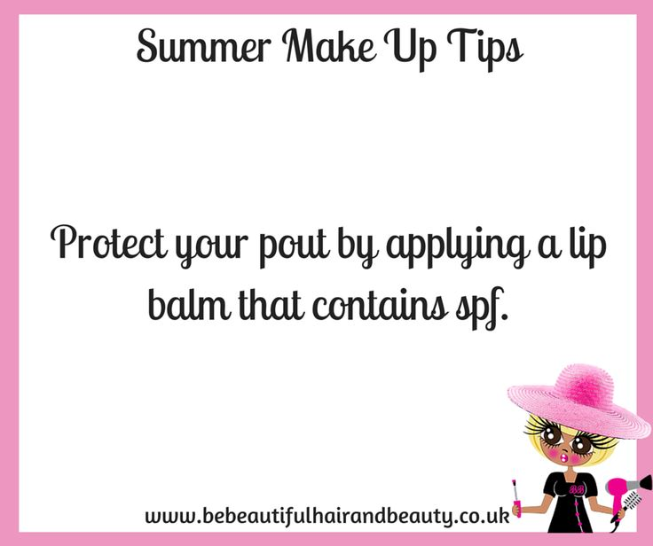 Summer Make-Up Tip #9
