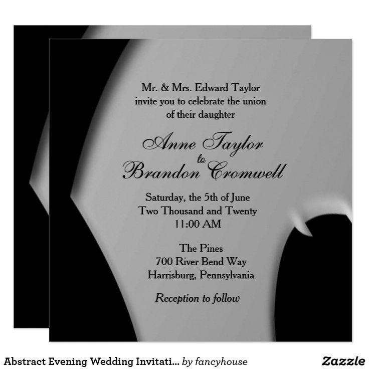 Best 25+ Evening wedding invitations ideas on Pinterest ...