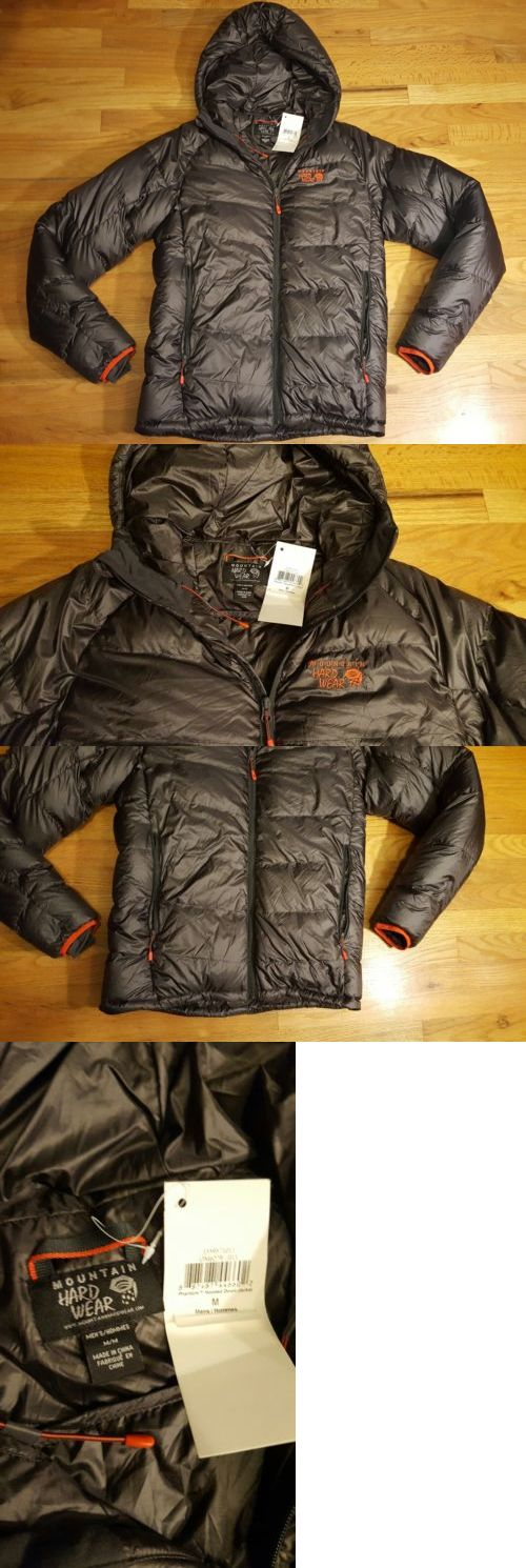 Coats and Jackets 26346: Mens Mountain Hardwear Jacket Size Medium Nwt Puffer Coat -> BUY IT NOW ONLY: $129.95 on eBay!