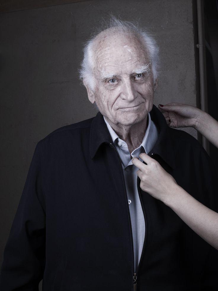 Patrick Messina – Michel Serres, Paris, 2012