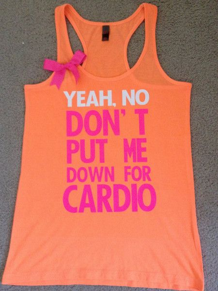 Pitch Perfect - Neon Tank - Womens Fitness Clothing - Workout shirt @Kandace Wynn we need this!