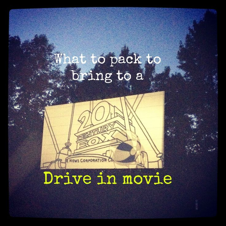 drive in with words