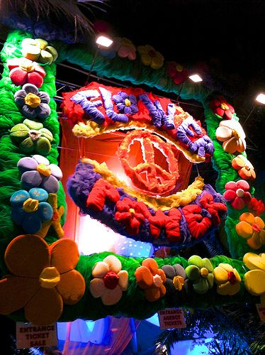 Entrance of Flower Power's Party, Pacha Ibiza