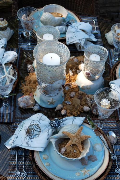 #Beautiful #Beach #Tablescape
