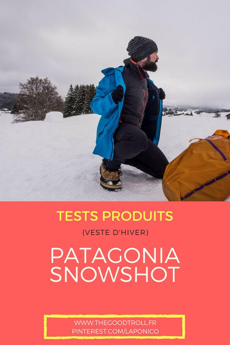 Test de la #veste d'hiver pour les activités #outdoor type ski de rando, raquettes... de #patagonia : la Snowshot. Très beau produit avec mon avis dans l'article sur www.carnets-nordiques.com