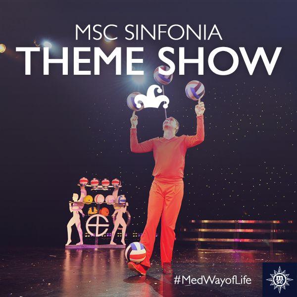 Spektakularne kazališne predstave čine vaše krstarenje uistinu nezaboravnim. #MSCSinfonia Every moment you spend on board will be unforgettable thanks to the spectacular theatre shows.