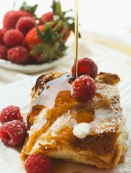 Boozy Baked French Toast. --via SmittenKitchen. --Image by Ashley ...