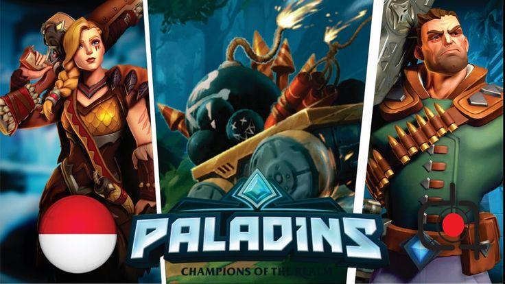 DORONG KERETA ~ Paladins Indonesia Gameplay