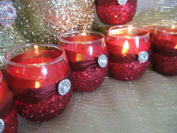 Weddings Wedding Candles Candle Holder Votives By KPGDesigns, $49.95