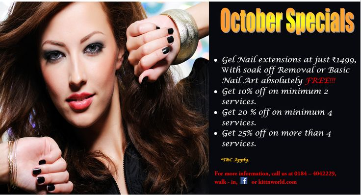 October Specials !!