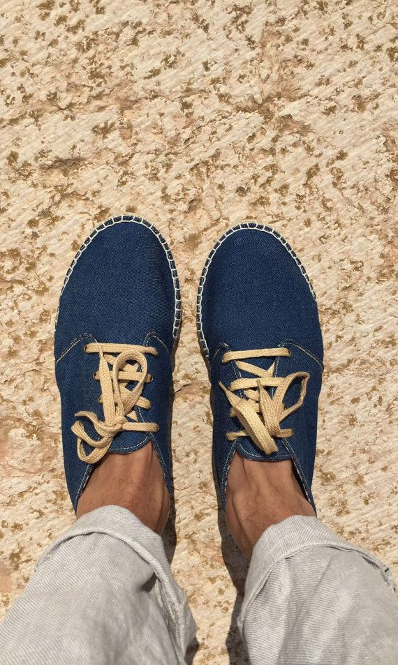 Espadrilles men's shoes flat summer outfit by TrinityAndTheCat