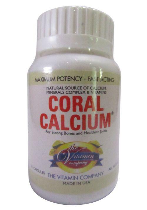 The Vitamin Company Coral Calcium 20 Tablets