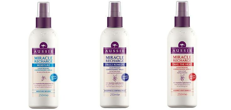 Aussie Miracle Recharge,Moisture-Frizz Remedy-Take The Heat