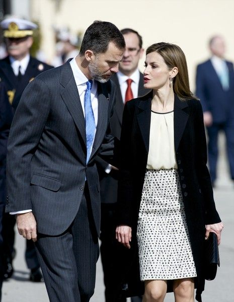 Queen Letizia of Spain Photos: Spanish Royals Receive President Of Colombia