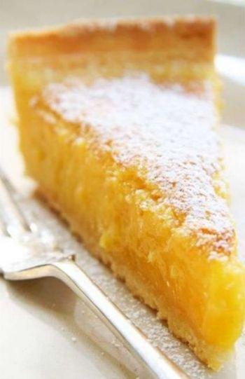Classic Lemon Tart recipe on www.nomu.co.za