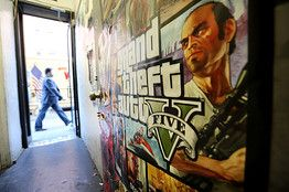 """'Grand Theft Auto Online' Goes Live—It's a free downloadable update for PlayStation and Xbox gamers who own """"Grand Theft Auto V."""" Fans of the series will get to do more of what they love: create a customized avatar and freely roam a life-like world"""