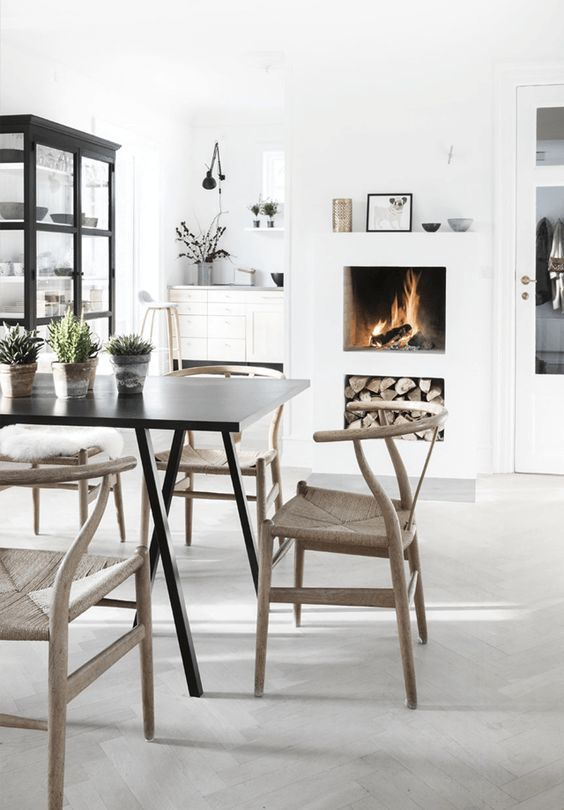 pinned by barefootstyling.com wishbone chair dining seating