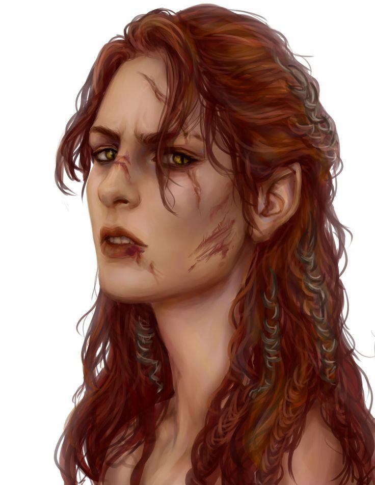f Half Elf Rogue Thief Assassin Rhona comission [2] by AnnaHelme