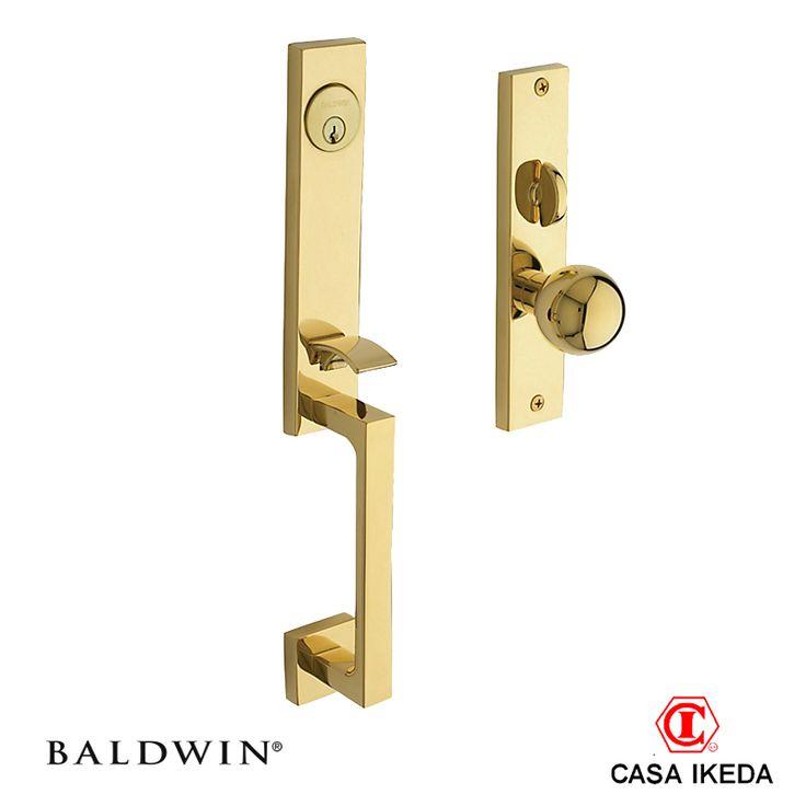 Baldwin Mod. New York Entrance Lock set